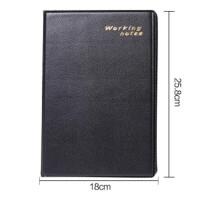 832皮面文具笔记本 记事本 随身商务工作记录日记本 大中小可选