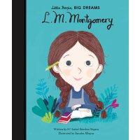 小女孩,大梦想:露西・莫德・蒙哥玛利 L. M. Montgomery 英文原版 精装绘本 名人传记 Little Pe