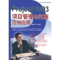 Project 2003项目管理与实施范例应用