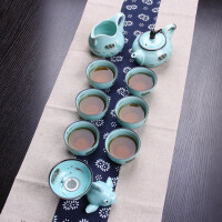 尚帝 手工绘青瓷茶具礼盒装 茶具组合套装BH2015-XM094