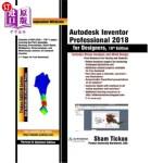 【中商海外直订】Autodesk Inventor Professional 2018 for Designers