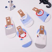 儿童袜子棉镂空网眼春夏季薄款男女童船袜1-3-5-7-9岁宝宝薄袜