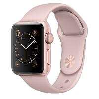 [当当自营] Apple Watch Sport Series 1智能手表(38毫米玫瑰金色铝金属表壳搭配粉砂色运动型