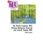 【中商海外直订】The British Essayists; With Prefaces Biological, Hi