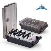 杰丽斯867 大容量名片盒 名片收纳盒 批量收纳分类名片夹