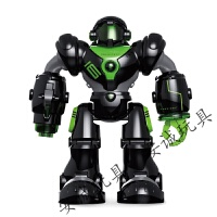 智能遥控电动机器人 玩具手势感应 音乐灯光编程早教 机器
