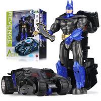 汽车飞机儿童玩具变形玩具金刚黑暗骑士蝙蝠侠模型机器人