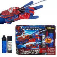 蜘蛛侠 2合1喷丝喷水蛛丝手套 发射器玩具 儿童套装玩具