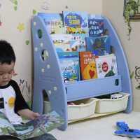 【限时抢购,全店七折】儿童塑料书架 家用宝宝玩具收纳柜 幼儿园多层绘本置物架卡通整理