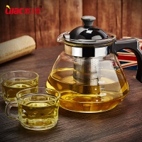 耐热玻璃泡茶壶 开水煮茶壶套装玻璃养生壶直火壶花茶壶