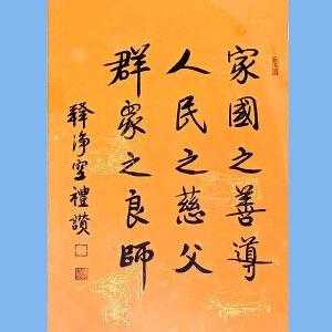澳洲净宗学院院长,香港佛陀教育协会董事主席净空(家国之善导)