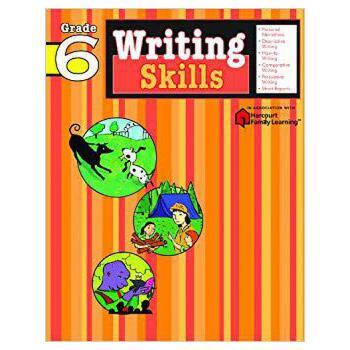 【现货】英文原版 Flash Kids 写作技能 6年级 Writing Skills, Grade 6 练习册 9781411404830 国营进口!品质保证!