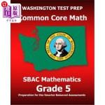 【中商海外直订】Washington Test Prep Common Core Math Sbac Mathemat