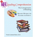 【中商海外直订】Reading Comprehension: The Components of Reading Re