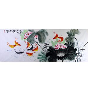 中国美协会员,中国书协会员 侯桂峰(连年有余)3