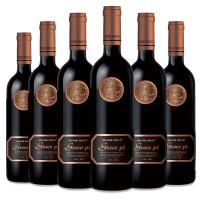 名仕罗纳德干红葡萄酒 怡葡750ml*6瓶整箱装