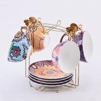 咖啡杯套装欧式小创意花茶杯咖啡杯碟套装英式下午茶茶具套装