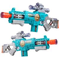 冲锋抢机关枪投影枪男孩男童小孩3-5-6岁儿童大号电动声光玩具枪