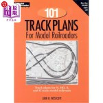 【中商海外直订】101 Track Plans for Model Railroaders