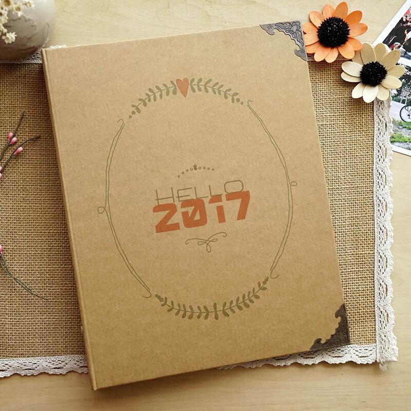 拍立得相册 相册簿宝宝影集本居家牛皮纸拍立得纪念册生日礼物送女友送儿童新年礼物