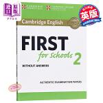 【中商原版】剑桥FCE考试校园版2 真题集:学生书(无答案)英文原版 Cambridge English First