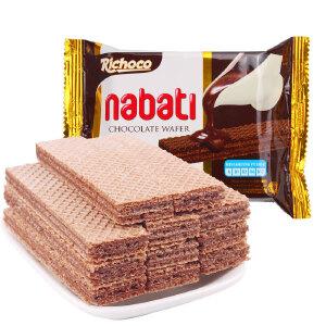印尼进口 丽巧克纳宝帝巧克力味威化饼干 58g