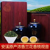 安溪浓香型铁观音礼盒装茶叶散装 415
