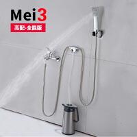 学生宿舍洗澡神器 自吸式不用电户外淋浴器便携式农村热水器