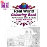 【中商海外直订】Real World Colouring Books Series 19