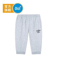 【开学季到手价:55.6】361度童装 男童七分针织裤2019年夏季新品儿童短裤K51923534