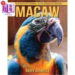 【中商海外直订】Macaw! An Educational Children's Book about Macaw w