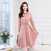 女士下半裙中年轻少妇女装上衣服春冬季假两件套装连衣裙子35春天30到45岁
