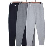 中老年人老式男士保暖裤加厚老人棉大码三层男女夹棉宽松棉裤