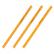 STAEDTLER 施德楼 黄色木杆铅笔 24支装 133