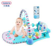 婴儿健身架新生儿脚踏琴健身器宝宝音乐玩具0-1岁3-6-9个月 脚踏琴健身器B213