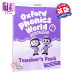 【中商原版】牛津自然拼读教材教师书4 英文原版 Oxford Phonics World Level 4 Teache