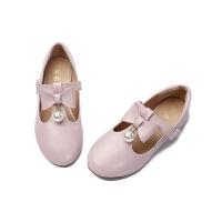 儿童黑色小皮鞋2018新款韩版公主鞋百搭软底船单鞋