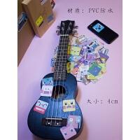 吉他贴纸日系 神奇贴纸宠物小精灵宝可梦笔记本笔记本电脑吉他行李箱小贴画