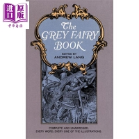 【中商原版】朗格灰色童话 英文原版 The Grey Fairy Book 童话 外国文学 安德鲁・朗格 Andrew