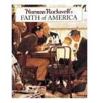 【中商原版】诺曼・罗克韦尔的美国信仰 英文原版 Norman Rockwell's Faith of America
