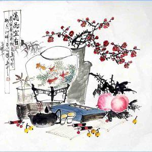 *美术师,河南省美协理事,中国书画名家理事会理事许鲁(清品宜香)