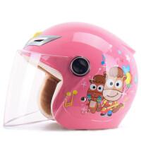 儿童电动车头盔4至6岁 M3野马儿童头盔女童冬季电瓶电动摩托车安全头帽男孩宝宝灰盔四季 均码