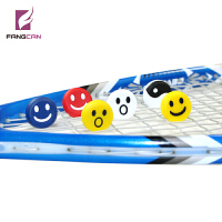 FANGCAN 避震器 网球拍 壁球拍 笑脸卡通天然橡胶减震器无毒 方灿
