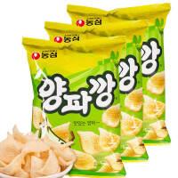 【包邮】韩国进口 农心洋葱味薯片83g*3袋