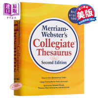 【中商原版】麦林韦氏大学词源 英文原版 Merriam-Websters Collegiate Thesaurus