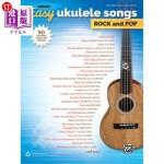 【中商海外直订】Alfred's Easy Ukulele Songs -- Rock & Pop: 50 Hits