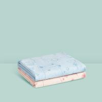 【一口价】网易严选 透气吸水可机洗,新生儿精梳棉隔尿垫