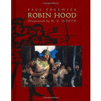 Robin Hood(Scribner Illustrated Classics)侠盗罗宾汉(名家插图版,精装)ISB