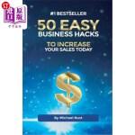 【中商海外直订】50 Easy Business Hacks to Increase Your Sales Today