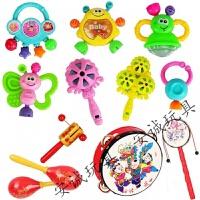 小儿童手摇铃婴儿玩具0-1岁早教玩具6-12月